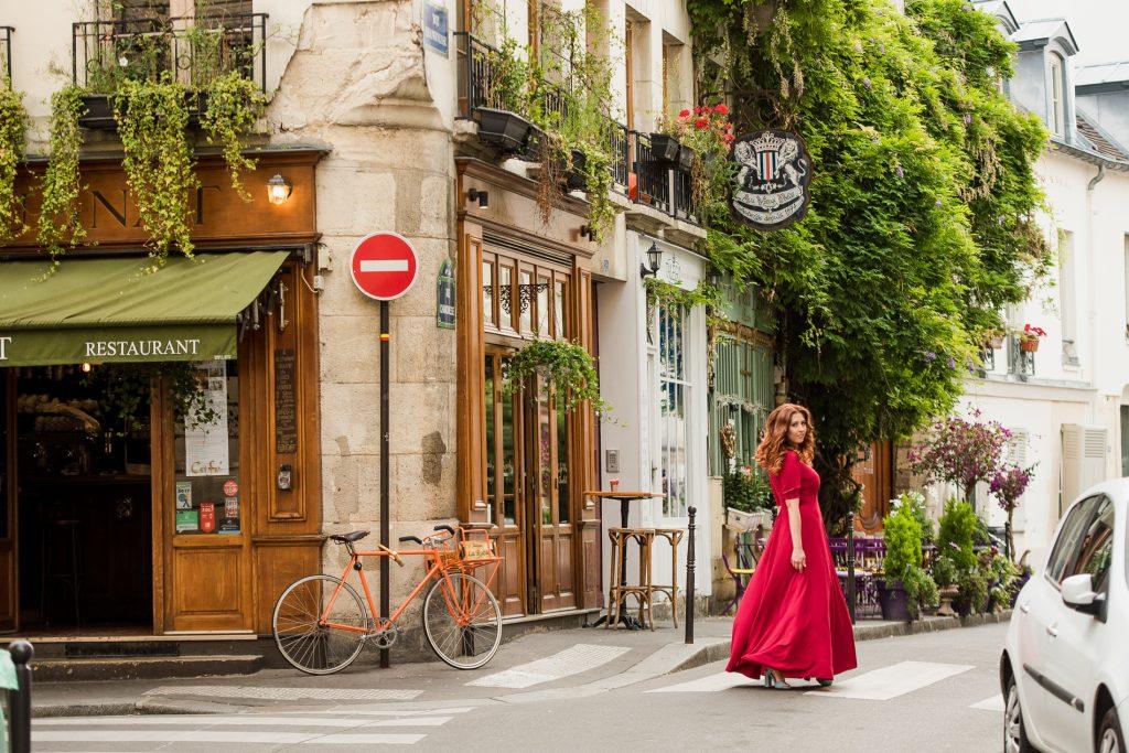 Фотосессия на острове Сите в Париже