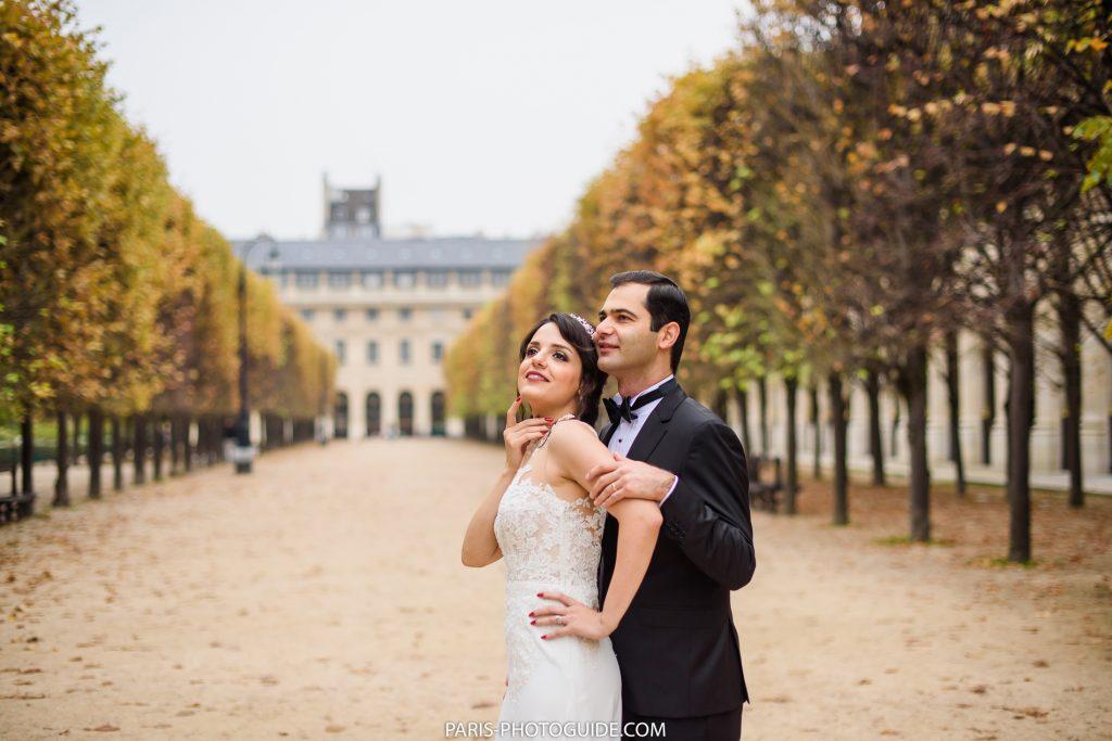 парк Пале Рояль в Париже