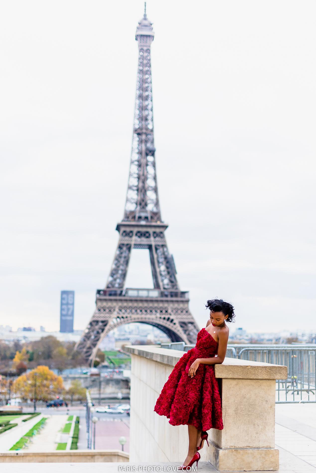 Днем, самые красивые картинки с девушками в париже